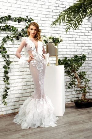 Mermaid Wedding dress Passion by D