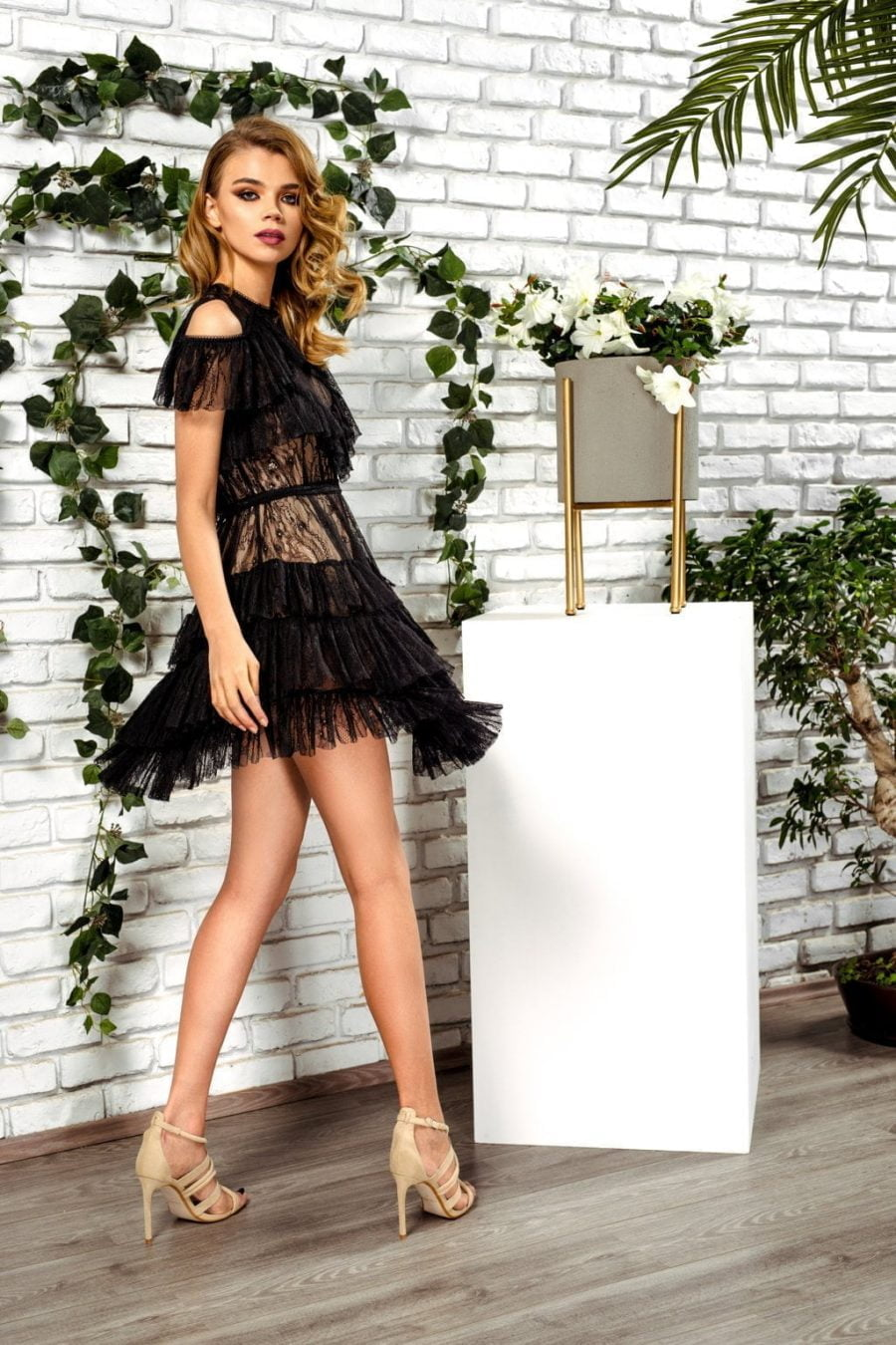 little black dress lace Passion by D