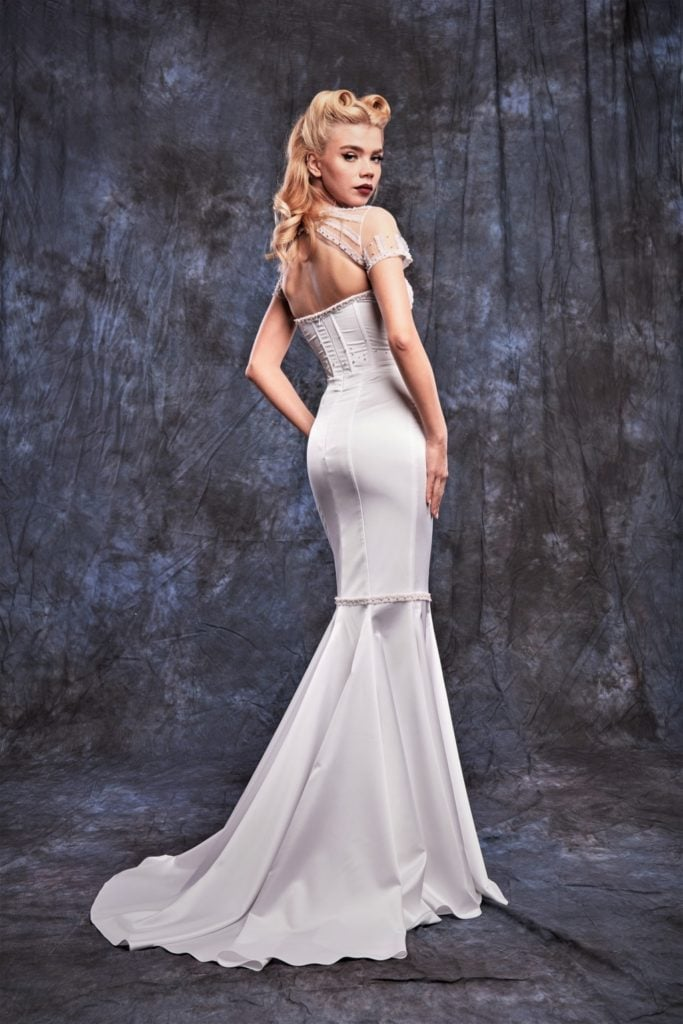 Mermaid wedding dress - SkinCode Collection - PassionbyD