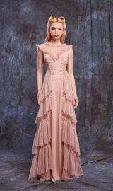 Dusty Pink Evening Dress