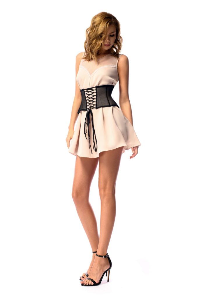 Waist Corset Dress summer dress