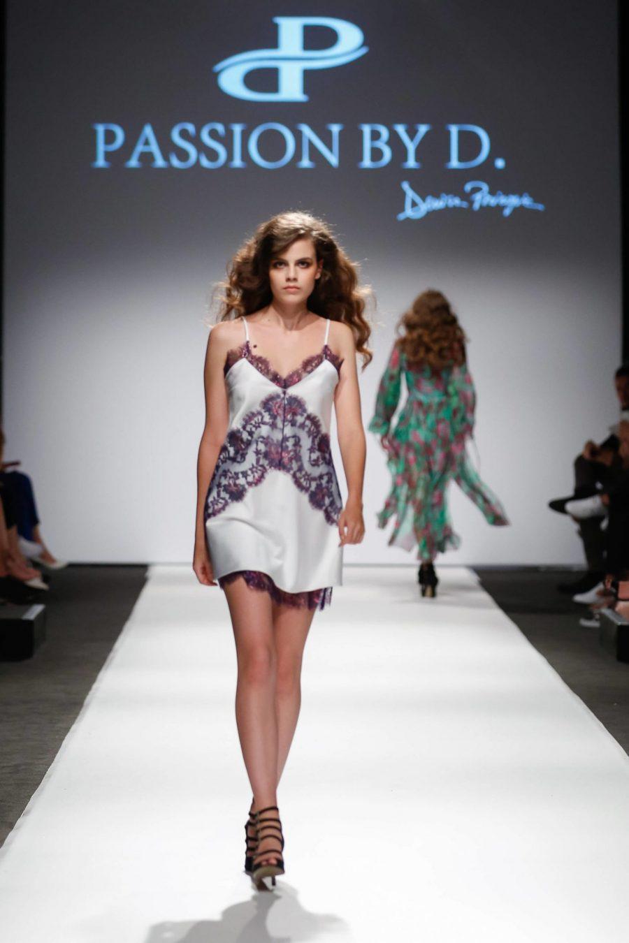slip dress Fashion Show Vienna Fashion week 2019 - Passion by D