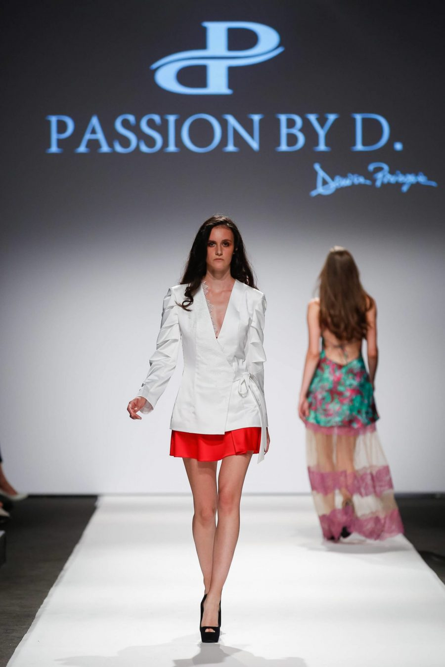Slip dress Fashion Show Vienna Fashion week 2019 - Passion by D