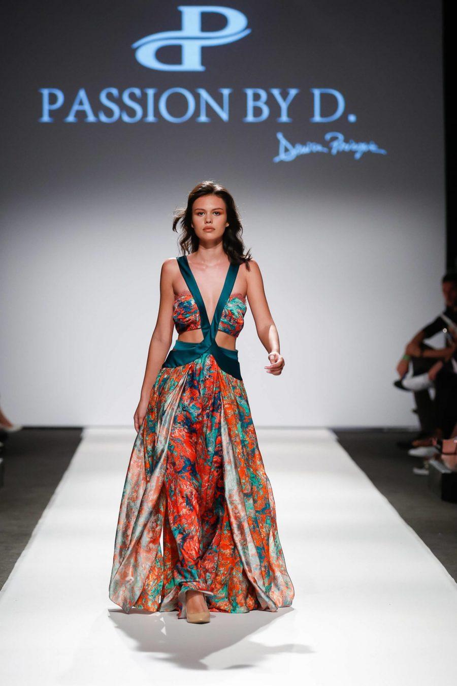 evening dress Fashion Show Vienna Fashion week 2019