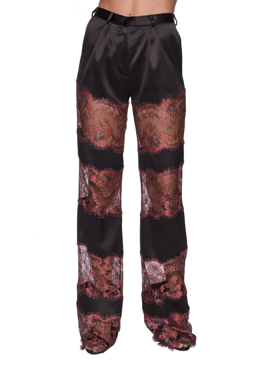 Lace inserts Elegant Pants