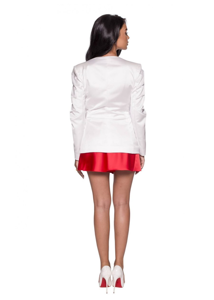 Short White Lace Jacket