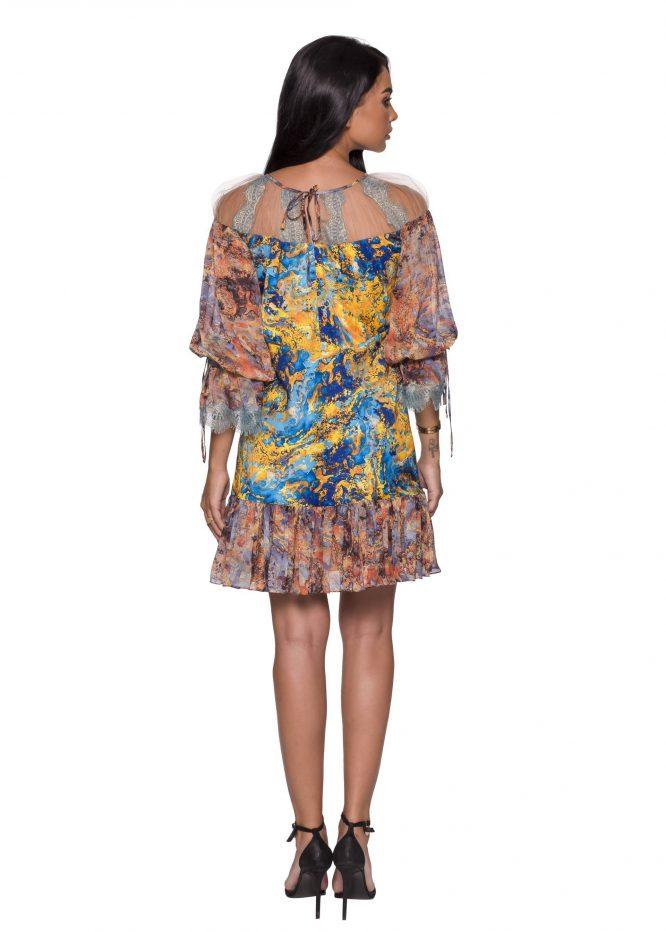 Long Sleeves Boho Dress
