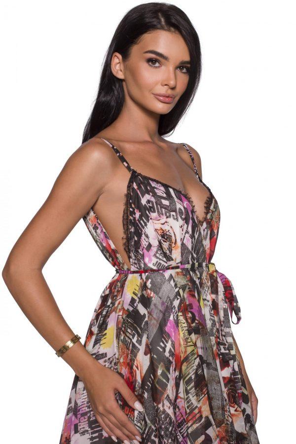 Silk Baby Doll Dress