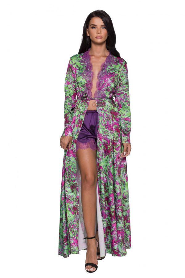 Long Open dress Robe