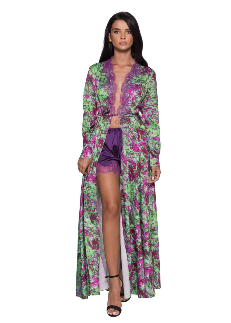 Long Open dress Robe