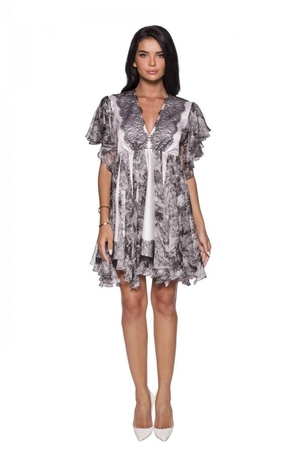 Cocktail mini Dress front PassionByD