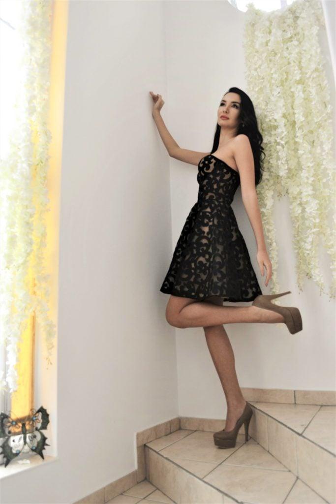 Short Evening Corset dress