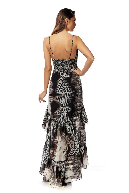Corset Dress with Sequins