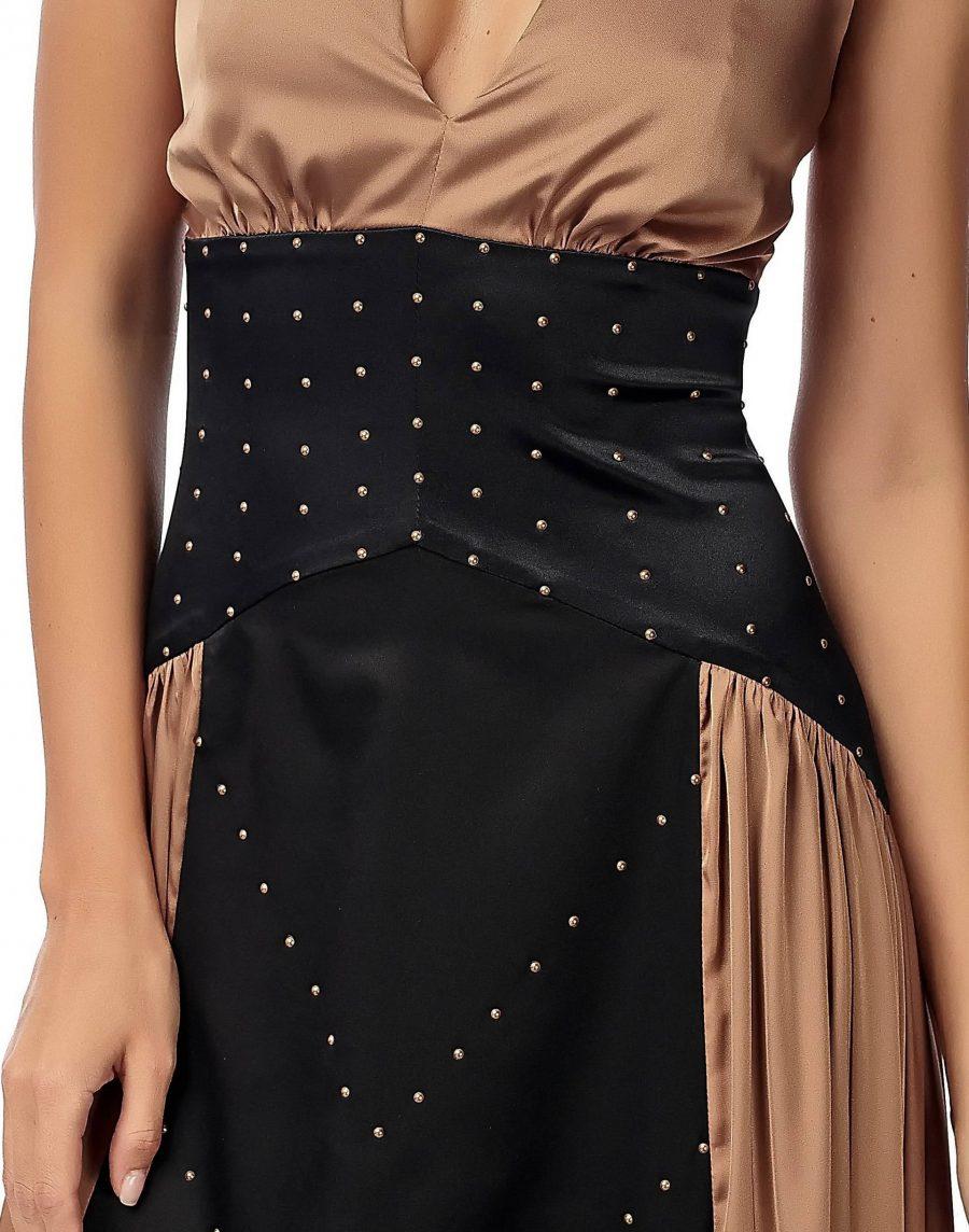 Dress with Swarovski pearls