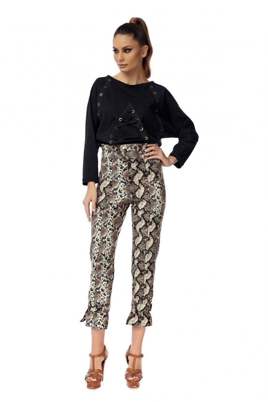 Snake Long Pants with High waist