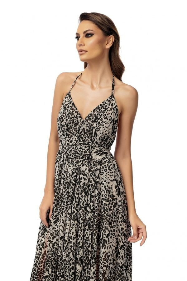 Evning Animal Print Dress