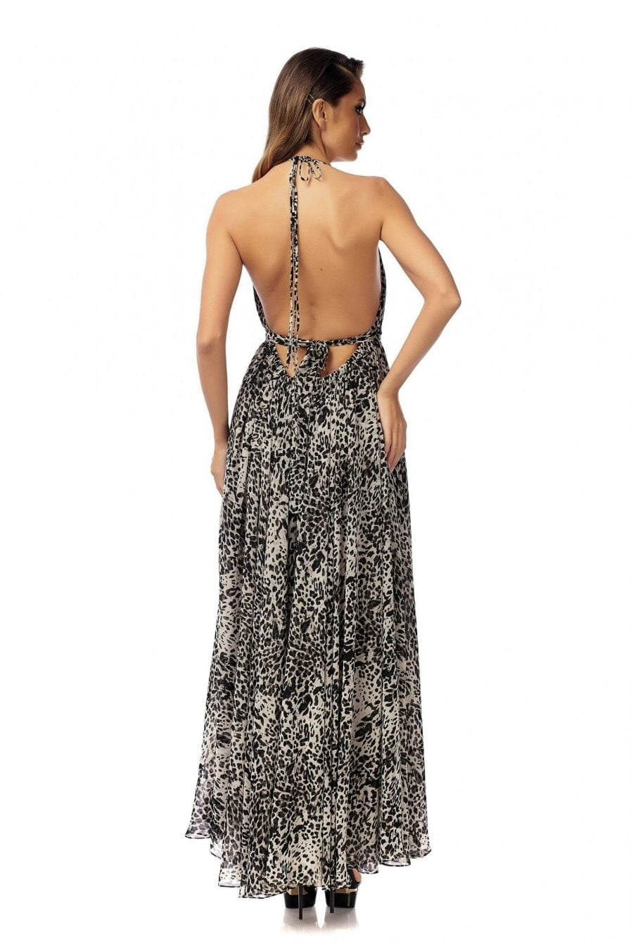 Evning Open Back Dress