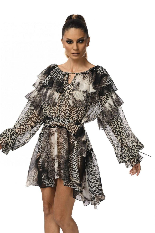 Short Dress Animal Print