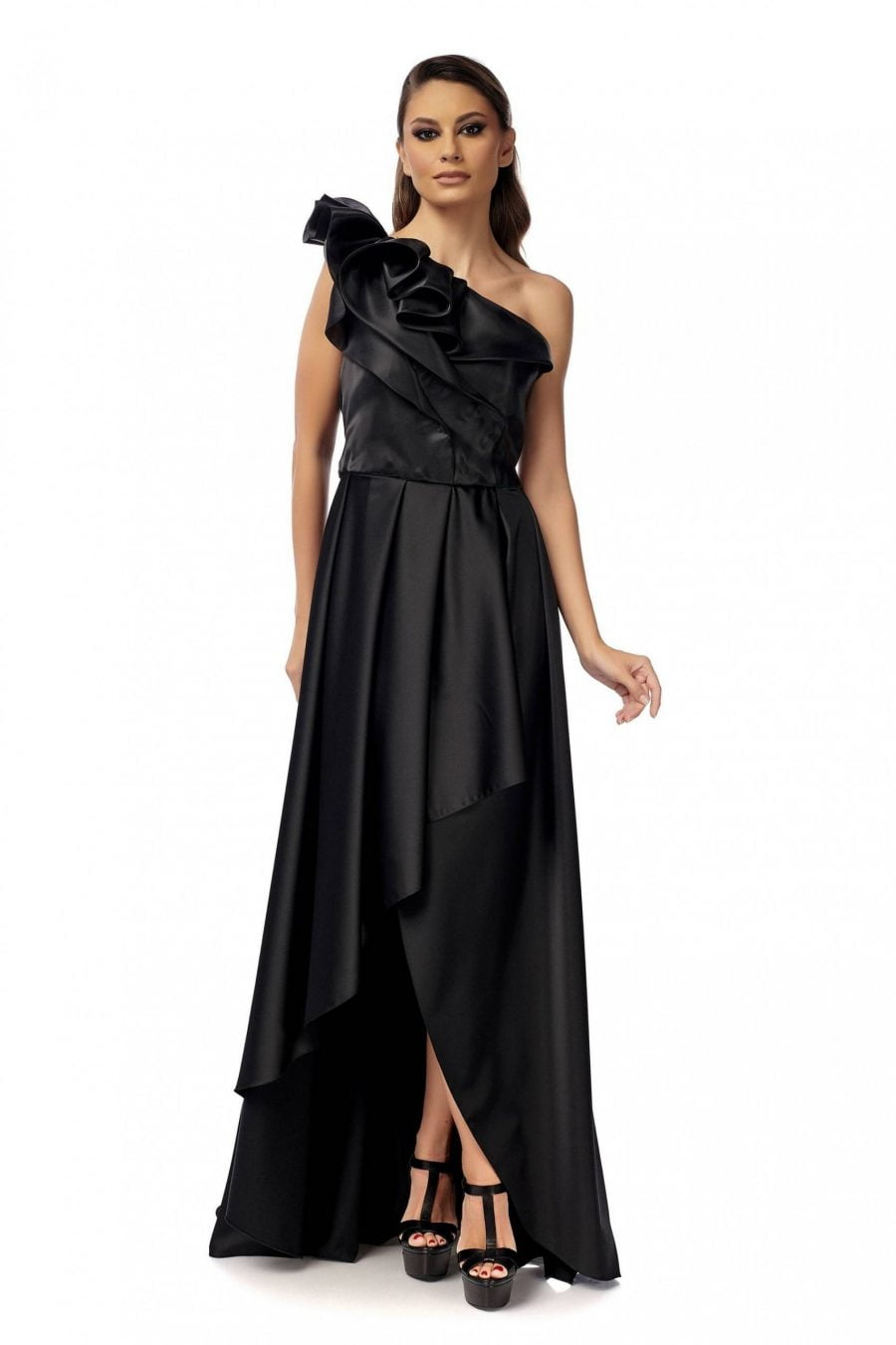 Black evening red carpet Dress